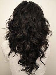 v cut #hairstyle #haircut #haircolor #longhair #wavyhair