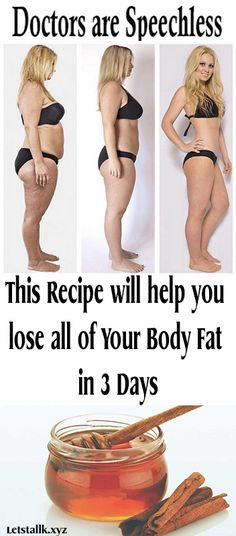 Doctors are Speechless ,This Recipe will help you lose all of Your Body Fat in 3 Days