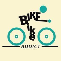 Bike addict icon