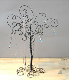 Wire Tree - Could use for HOLIDAYS & ornaments!!! (Christmas, Halloween, Easter, Valentine's Day, etc.!!!)
