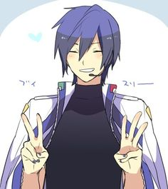 Sometimes I wish KAITO was my brother. ;-;