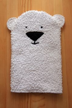 Polar Bear Bath Mitt
