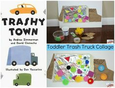 Trashy Town - A Book and a Craft for Toddlers