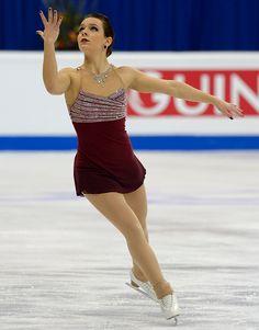 Roberta Rodeghiero of Italy, ISU European Figure Skating Championships 2016, Bratislava, Slovakia. Evita (soundtrack) by Andrew Lloyd Webber)