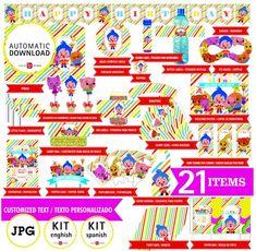BIENVENIDO A NUESTRA TIENDA LUCIASPIAZZIDESIGN  Te presentamos KIT de Plim plim con textos personalizados. Son ARCHIVOS DIGITALES que son enviados en JPG de alta resolución. Los documentos serán enviados dentro de las 48hs luego de recibir toda la información requerida. DESCRIPCIÓN el Kit contiene Candy Cone, Invitation Cards, Invitations, Welcome Poster, Jar Labels, Candy Bags, Happy Birthday Banners, Party Hats, How To Introduce Yourself