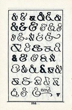 #ampersands