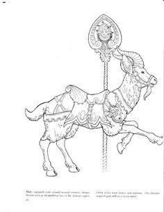 Carousel Figures Goat