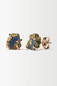 Alana Duvaros Polished Glitz Earrings - anthropologie.eu