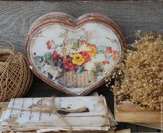 """Купить """"Весеннее настроение"""" бонбоньерка - рыжий, оранжевый, весна, весеннее настроение, весенние цветы, цветы"""