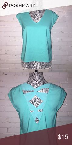 Express Blouse w/Cute Back EUC. Puppy-loving smoke-free home. Sorry-no trades. All offers will be considered but please be respectful of the brand and the condition :) 20% discount if you bundle two or more items!  🛍 Happy Shopping! 🛍 Express Tops Blouses