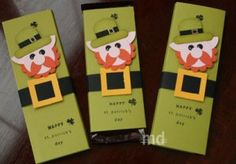 Leprechaun Hershey Bars craft, candy bar wrappers, candies, favor, st patrick, hershey bar, decor idea, stpatrick, candi bar