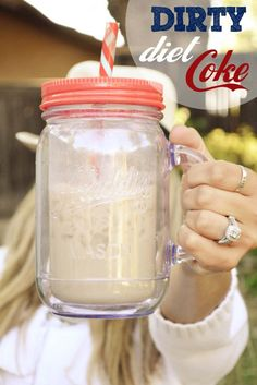 How to Make a Dirty Diet Coke