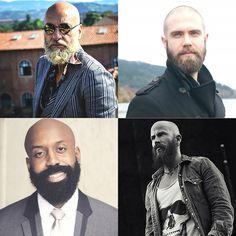 Shaved Head & Longer Beard