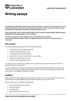 General Studies what is an academic essay writing