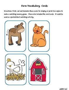 Use this set in many different ways! Can be used as a center, a memory matching game, on a word wall, or pocketchart activity.  *this set is includ...