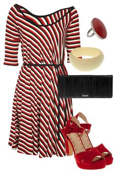 birdsnest Outfit of the Day for Tuesday August 28, 2012. For retro movie-star style you can't go past this outfit! The A line skirt is slimming for girls with big hips.