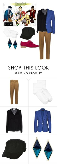 """Jihae(DandelionWishes brought to you)"" by chibiblue ❤ liked on Polyvore featuring Étoile Isabel Marant, Hue, Milly, Balmain, Billabong and House of Harlow 1960"