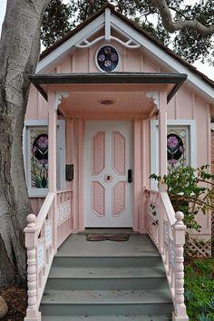 Sweet Pink Summer Cottage