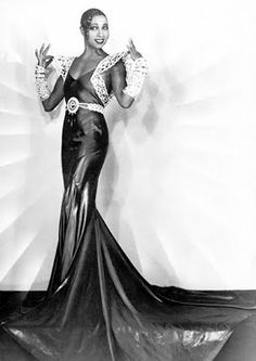 Josephine Baker. La Magnifique!  (She became a French citizen in 1937, lived in France and died in Paris. She also spied for France during WWII occupation). A great woman!