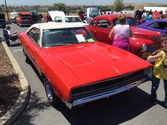 Third Annual Live On, Drive On Car Show. ElDorado Hills, CA.  A REAL Dodge Charger