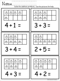 Kindergarten math worksheets addition - Free Kindergarten Math Addition Worksheet for Winter – Kindergarten math worksheets addition Kindergarten Addition Worksheets, Kindergarten Math Activities, Preschool Math, Preschool Worksheets, Subtraction Activities, Math Games, Free Printable Kindergarten Worksheets, Math Literacy, Tracing Worksheets