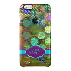 Abstract Multicolored Dots Design iPhone 6 Case Uncommon Clearly™ Deflector iPhone 6 Case