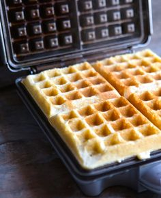 How to Make Crispy and Light Gluten-Free Waffles