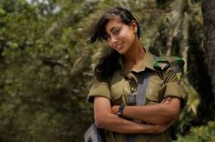 Corporal Elinor Joseph is a 20 year-old Arab from Haifa & is also a paratrooper in the Caracal Battalion combat unit & a medic. She is the 1st Arab woman ever to serve as a paratrooper in the IDF. One of the few Arab female soldiers in the Israeli Defense Forces, & one of the very few Arab female warriors.  She wasn't supposed to be in the front lines, but she insisted & ended up finishing her basic training with excellence & being recognized as one of the top in her unit.