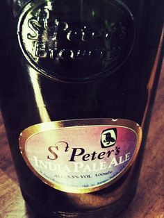 St. Peter India Pale Ale - IPA  United Kingdom - 5,5% - #beer #beercollection #IPA
