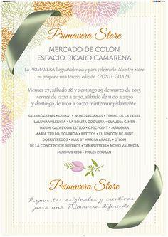 #showroom #mercado de colón #valencia #bisuteria #fashion #moda #piedras #madeinspain