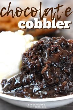 This quick dessert has a warm fudgy pudding covered with a moist chocolate cake. Its like a chocolate lava cake but wayyyy easier and just as delicious!! Chocolate // Pudding Cake // Fudgy Cake #Chocolate #LavaCake #Cake #Cobbler ... because it releases endorphins into the body to give you a sense of comfort and relaxationLowcarbing is mainstream now where it used to be a fringe d...th boiling water and stir until melted Alternatively melt gelatin with water in the mini Dutch oven over a low… Chocolate Cobbler, Chocolate Pudding Cake, Easy Chocolate Desserts, Chocolate Lava, Mini Desserts, Delicious Chocolate, Healthy Desserts, Chocolate Covered, Easy Delicious Desserts