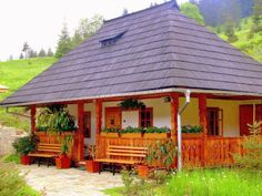 Really want excellent ideas concerning travel? Head to this fantastic site! Kerala Houses, Vernacular Architecture, Village Houses, Little Houses, House In The Woods, Traditional House, Design Case, My Dream Home, Beautiful Homes
