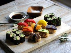 Vegetarian #sushi
