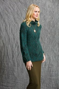 Portland Pullover - Tahki Stacy Charles, Inc., Supplying Knitters with Fabulous Fibers and Yarn