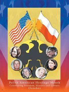 Polish American Heritage Month Poster Product: PA Size: 18 x European American, Heritage Month, Bookmarks, Freedom, Polish, Poster, Sensitivity, Diversity, Liberty
