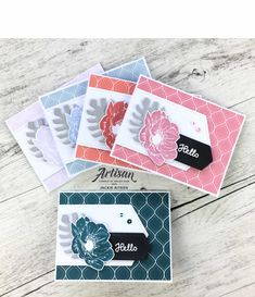 Stamping Sunday Blog Hop - New In Colours