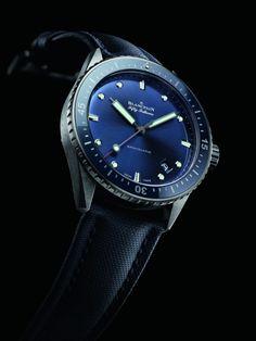 La Blancpain FF Bathyscaphe céramique Plama Grise » La Revue des montres