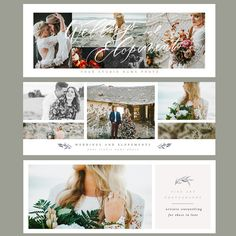 2017 Facebook Timeline Covers is a set of six simplified designs for your facebook page that focus on the images. Designed with the latest Facebook Size Guidelines. – Fully layered . Weddings and Elopements wordart is not editable. – Photo clipping mask . 300 dpi. Name of the fonts used are inlcuded – fonts searchable on …