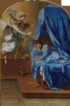 Eustache Le Sueur ~ The Dream of St. Bruno