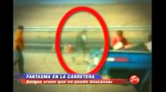 "A Chilean news station showed pictures of a tragic car crash that occurred on Router A-16. Known as ""The Cursed Road"" by locals, the images of the crash showed something peculiar. In one of the images, the photographer claims to have captured the image of one of the deceased. Friends of the deceased agree with the photographer's assumption stating that the translucent apparition appears to be wearing the same type of clothing their dead friend wore."