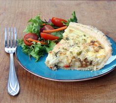 MIH Recipe Blog: Gluten Free Sour Cream Chicken Quiche