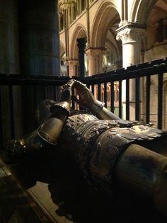 The Black Prince's tomb, Canterbury