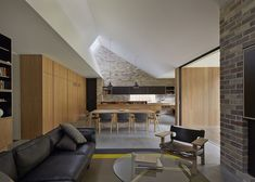 Skylight House by Andrew Burges Architects. Photo by Peter Bennetts |Yellowtrace