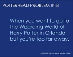 Potterhead problem 18, except I actually went