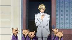 Osaki Kaname & the 5 kitsune (Hakkenden: Touhou Hakken Ibun)