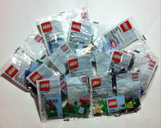 LEGO Exclusive Lot of 9 Different Monthly Mini Builds New Sealed Polybag w/ Card #LEGO