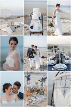 Nautical Wedding Inspiration  | Maria Sundin | Bridal Musings Wedding Blog