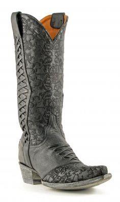 Womens Old Gringo Sweet Revita Boots Vesuvio Black #L1073-1 via @Chris Cote Allen sutton Boots