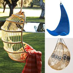 Swinging and Hanging Patio Chairs