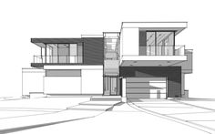 Architektur Trendy house sketch shadows How Do We Know What Time It Really Is? Interior Architecture Drawing, Architecture Concept Drawings, Architecture Sketchbook, Modern Architecture, Dream House Drawing, House Sketch, Dream Home Design, House Design, Interior Design And Technology